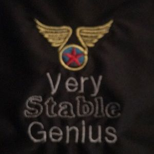 Very stable genius embroidery art
